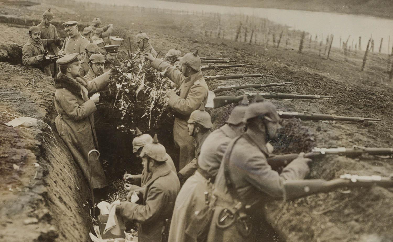 Soldados en las trincheras durante la Primera Guerra Mundial Crédito: revistaseptiembre.com